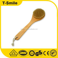 Good quality wooden handle Paint brush with wooden /long handle elbow brush/painting brush