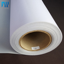 Glossy waterproof Polyester eco Solvent Canvas