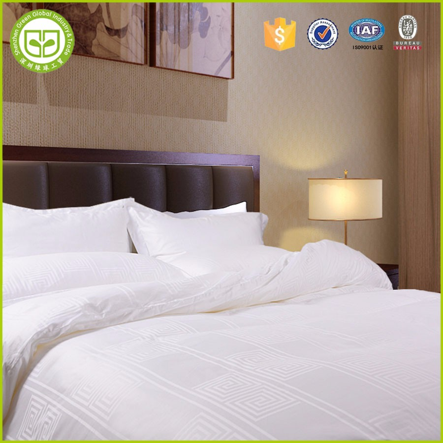 HBC2 Egyptian cotton sheet fabric hotel bedding , hotel bed sheets