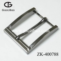 Newly designed 40mm fashion single pin buckle for belt