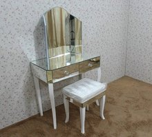 dresser furniture white wooden leg simple dressing table