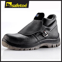 Hot resistant coal mining boots with rubber outsole