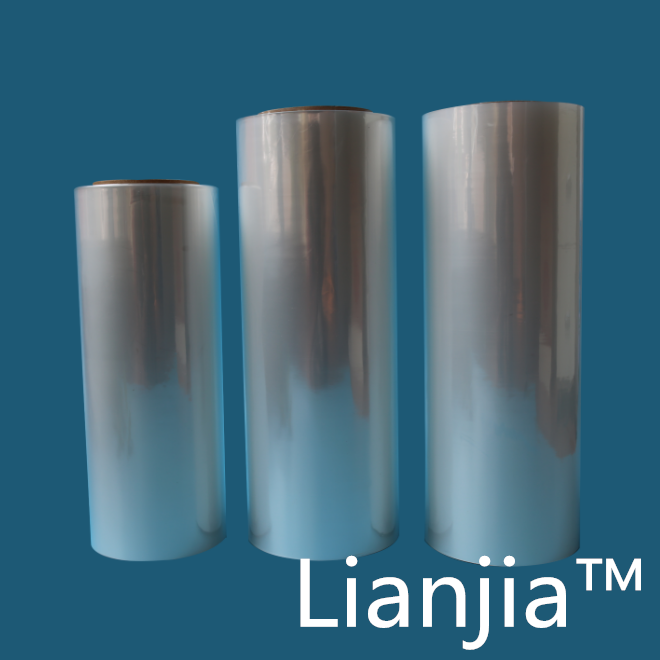 LIANJIA POF shrink wrap film for packing CD