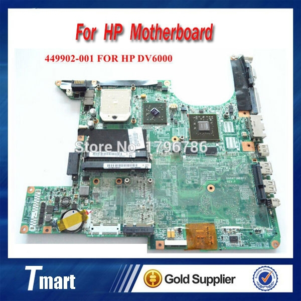 for hp DV6000 DV6500 449902-001 laptop motherboard intel non-Integrated with 4 video chips 100% tested 45 days warranty