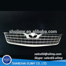 Plastic injection molding ABS chromed plating automotive parts, Chromed car grating