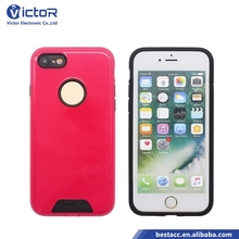 Wholesale China factory 2 in 1 UV coating fashion mobile phone case for iPhone 7