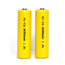 Cheap price high quality ni-cd aa 300mah 1.2v rechargeable battery