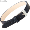 Luxury Stainless Steel Closure Adjustable Belt