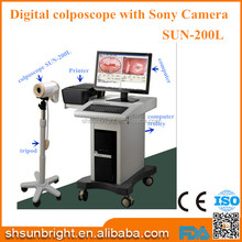 Manufacture price SUN-200L vaginal scanner video colposcope