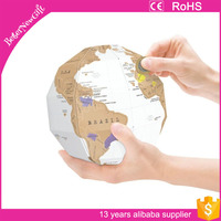 scratch off world map 3D scratch map scratcher holder wipping accessories of scratching off map