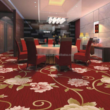 Customized Machine Tufted Axminster Guestroom Carpet