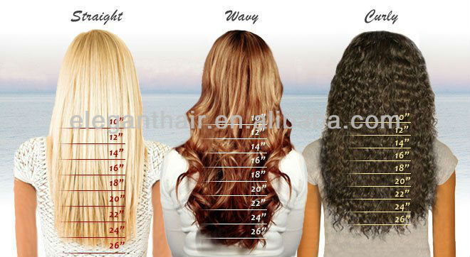 Double Side Human Hair Tape Extension View