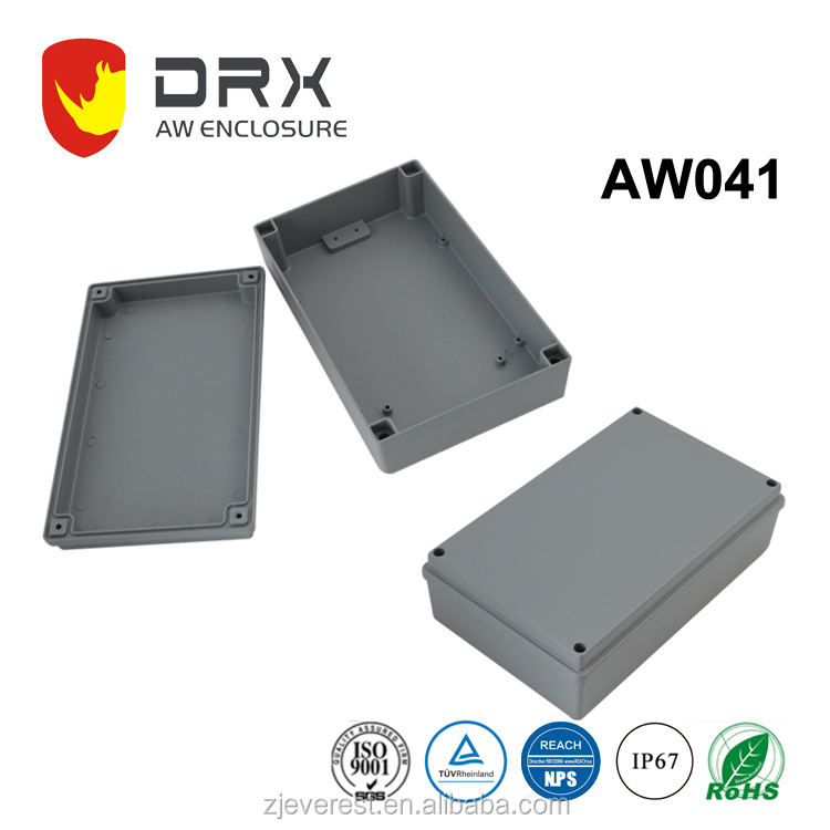 ALUMINIUM ELECTRONIC ENCLOSURE WITH WALL MOUNTING FLANGE