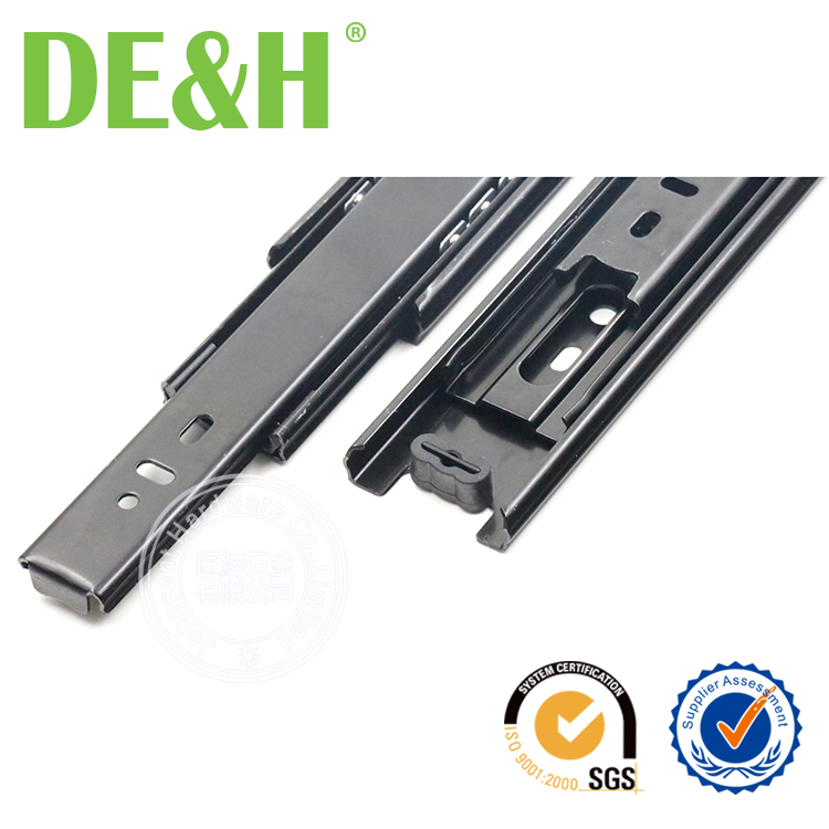 China supplier Fully extension teflon drawer slides 45mm