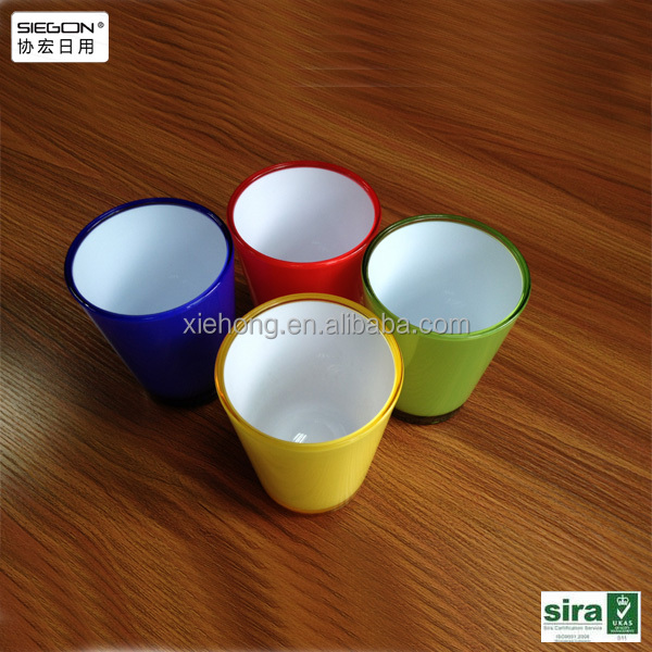 a strong manufacturing and process factory : high quality customized acrylic cup for sale