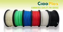 CiaoPlas quality biodegradable 100% pla 3d printer filament 1.75mm