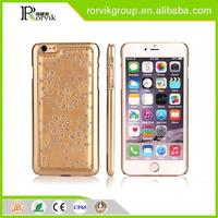 Magnetic adsorption wholesale glitter powder cell mobile phone case cover accessories for iPhone 6 plus