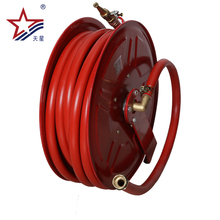 Red color used for factory washing the floor fire hose reels manufacturers with CE