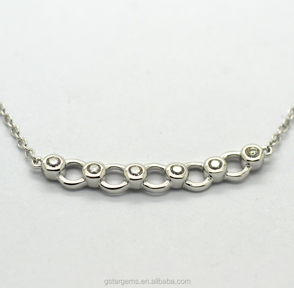 2015 New arrival 925 silver necklace