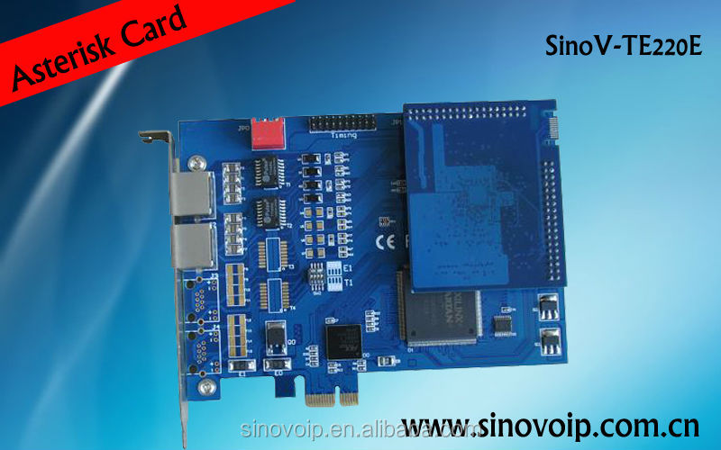 Asterisk analog to digital converter,embedded fxo and fxs port module card