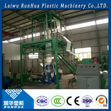 space saving large shrink wrap bags plastic film extruder machine price