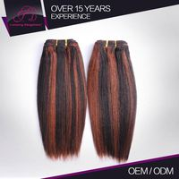 Soft Touch Straight Indian Remy Yaki Hair Extensions