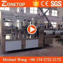 Automatic bottling packaging mineral water complete production line