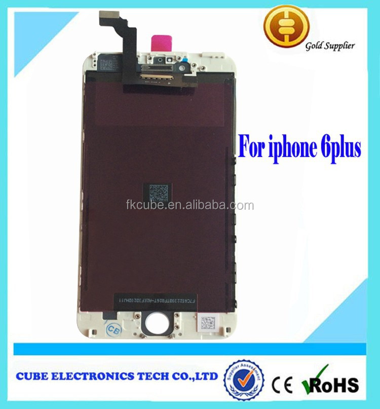 OEM Spare parts LCD and screen for iphone 6 plus 5.5'