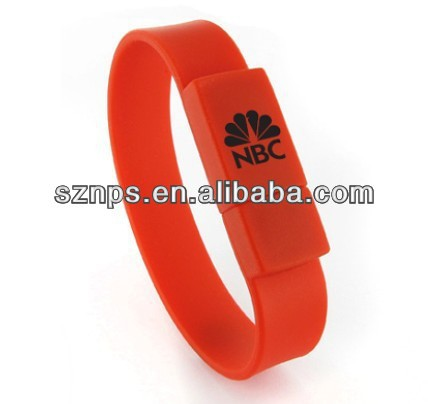 soft PVC wristbandpen drive ou pen drive hp usb flash drive