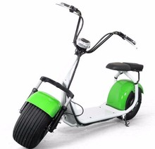 2016 Popular Harley bicycle style electric scooter with big wheels, fashion city harley citycoco