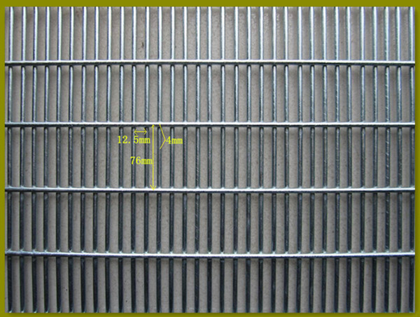 Wholesale prison mesh anti climb grille fence high risk site guard against theft boundary fencing 358 high security fences
