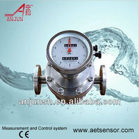 High temperature stainless steel flow meter- oval gear flowmeter with CE approved/ ISO9001