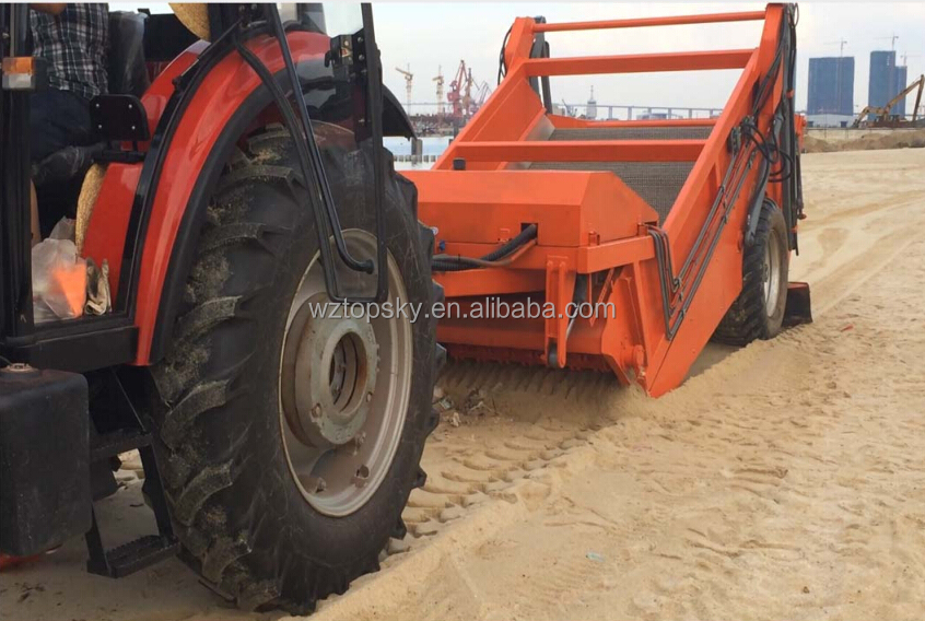 Tractor Mounted Beach & Sand Cleaner Model 2800