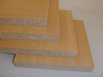 1220*2440*18mm E1/E2 particle board for export