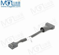 usb female to male converter cable usb2.0 to usb3.0 9pin to 20pin 10cm converter/adapter cable