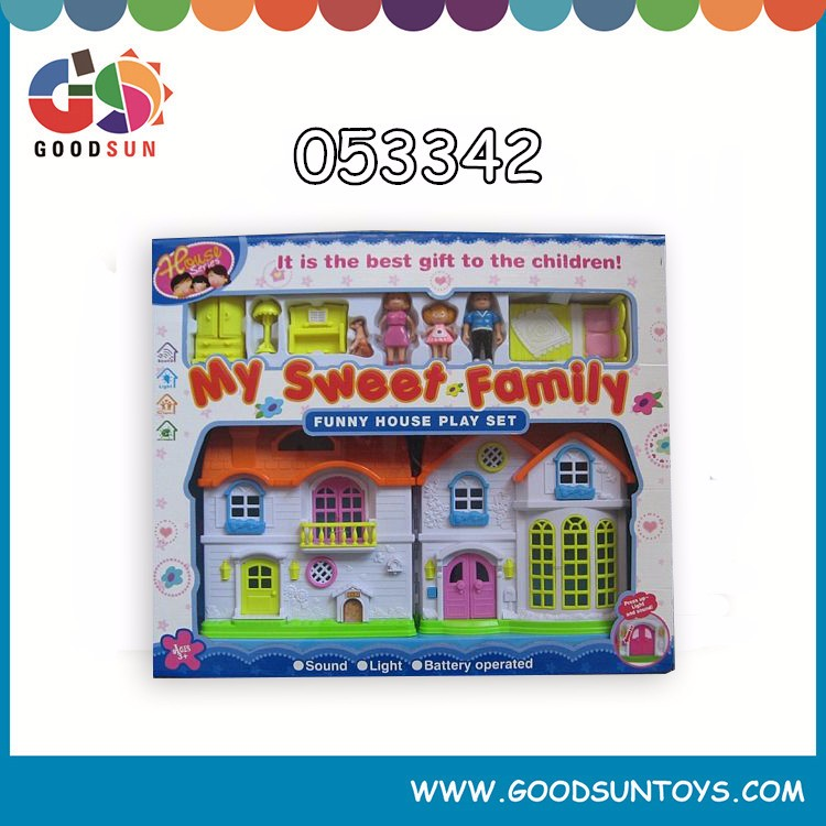 hot sale kids toy doll house furniture 2016 free sample small order chenghai toys wholesale OEM ODM cheapest