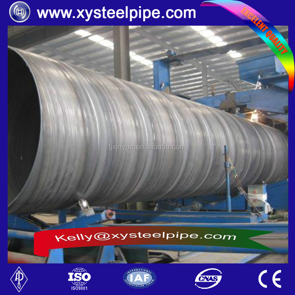 Steel pipe/API 5L PSL2 x42 SCH 40 BLACK OIL PAINTING SSAW SPIRAL OIL AND GAS STEEL PIPE