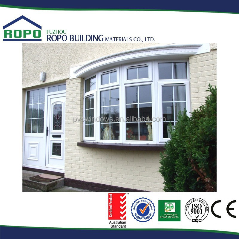 Swing Out UPVC Glass Windows
