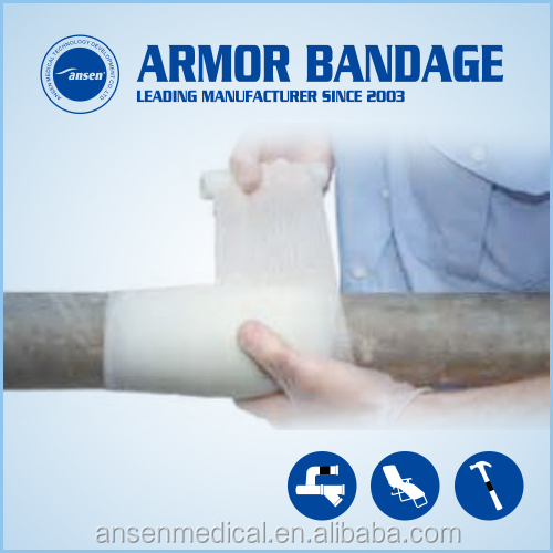 Emergency Pipe repair Bandage Armor Wrap tape or Cable Connection used Industrial