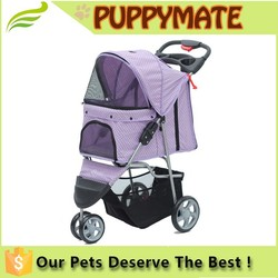 China pet travel trolley/dog strollers for sale/designer dog strollers