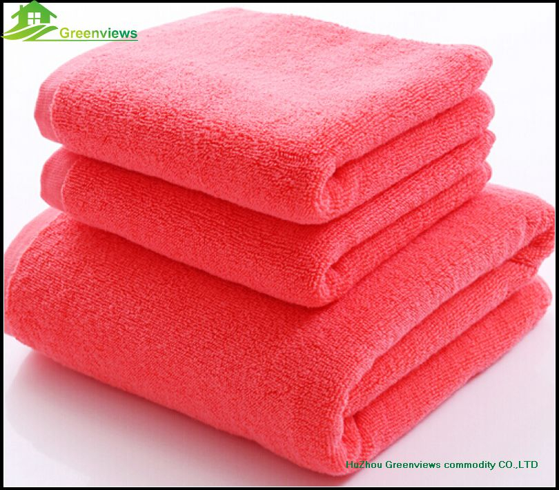 Cotton luxury hotel towel terry embroidered towel Professional gots certified organic cotton bath Towel