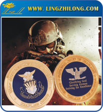 Customized USN Chief Coins American Gold Navy Coins