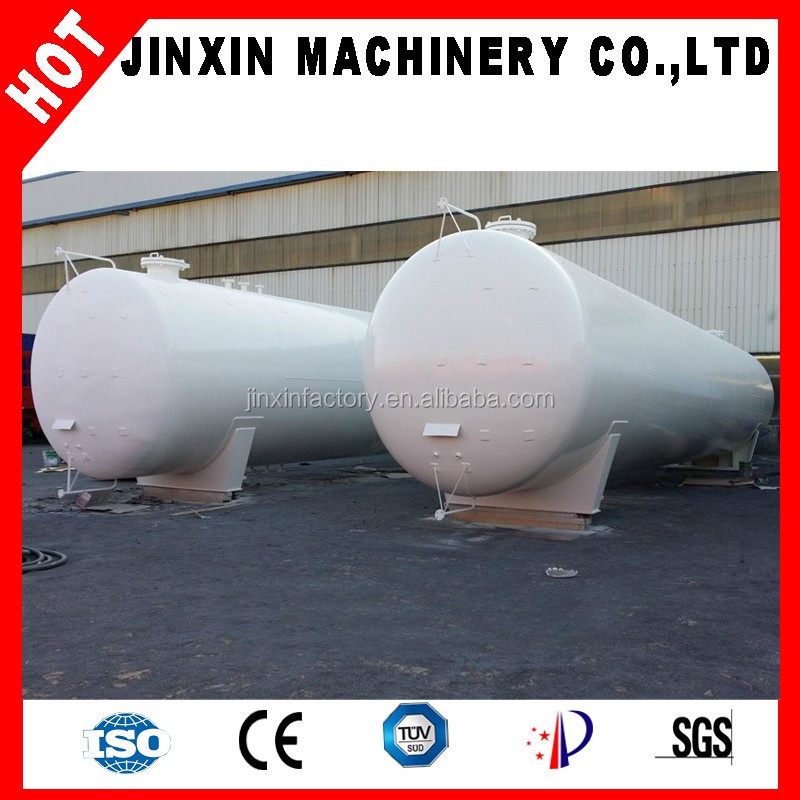 JX liquefied gas station used big 150m3 LPG storage tank 150000 liters gas tank
