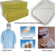 Top quality Hot Melt Adhesive Glue for Medical Skin Adhesive
