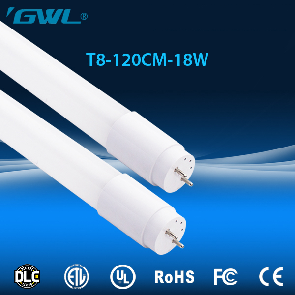 Manufacturer wholesale Competitive price tube8 japanese 4 feet 18w led tube, UL DLC cerftified