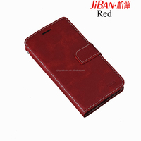 2017 newest fashionable full packing dermal PU leather flip containing card cell Phone case for huawei P10