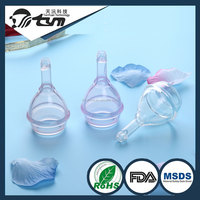 2016 new products women reusable 100% medical silicone menstrual cup