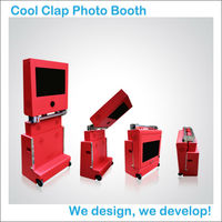 Wedding Favors Foldable Luggage Outdoor Kiosk Design Wedding Photo Booth
