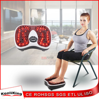Electronic magnetic wave pulse foot massager, infrared heating foot massager equipment with CE and Rhos approval