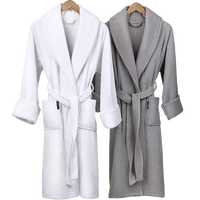 Custom Wholesale Bathrobe Terry Cotton Bath